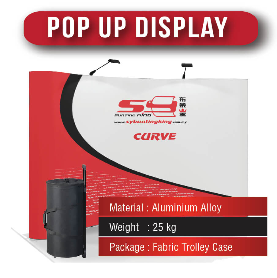 Pop Up Backdrop Display