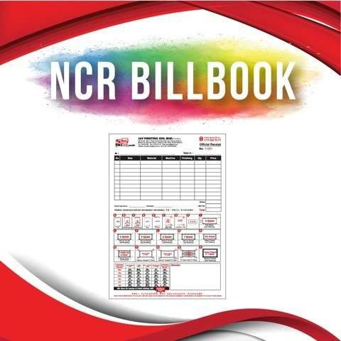 NCR Bill Book