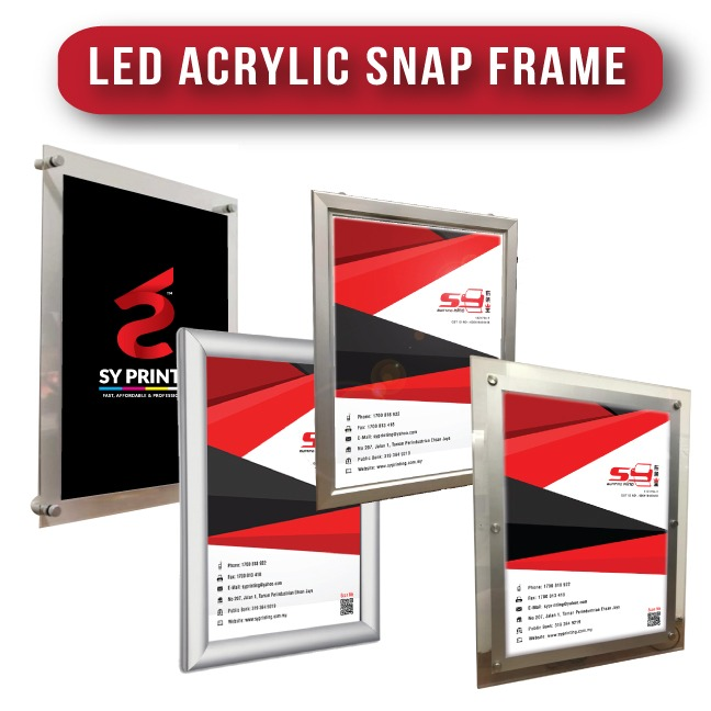 Acrylic Poster Display