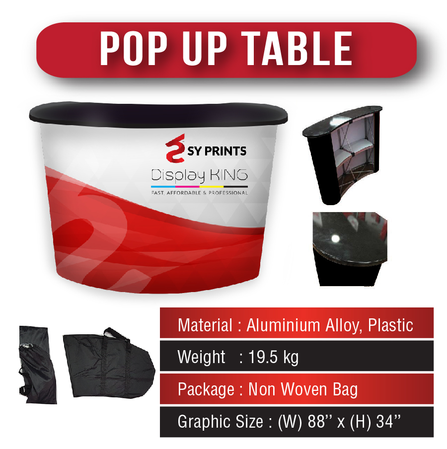 Pop Up Table